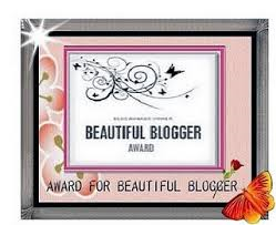 Pink Beautiful Blogger Award