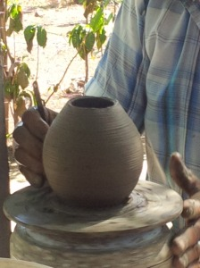 43 Pottery Being Made